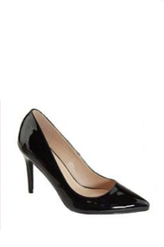 On My Own Pumps | Black Patent