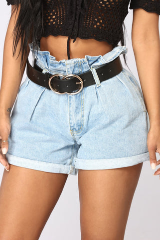 Double Buckle Belt | Black