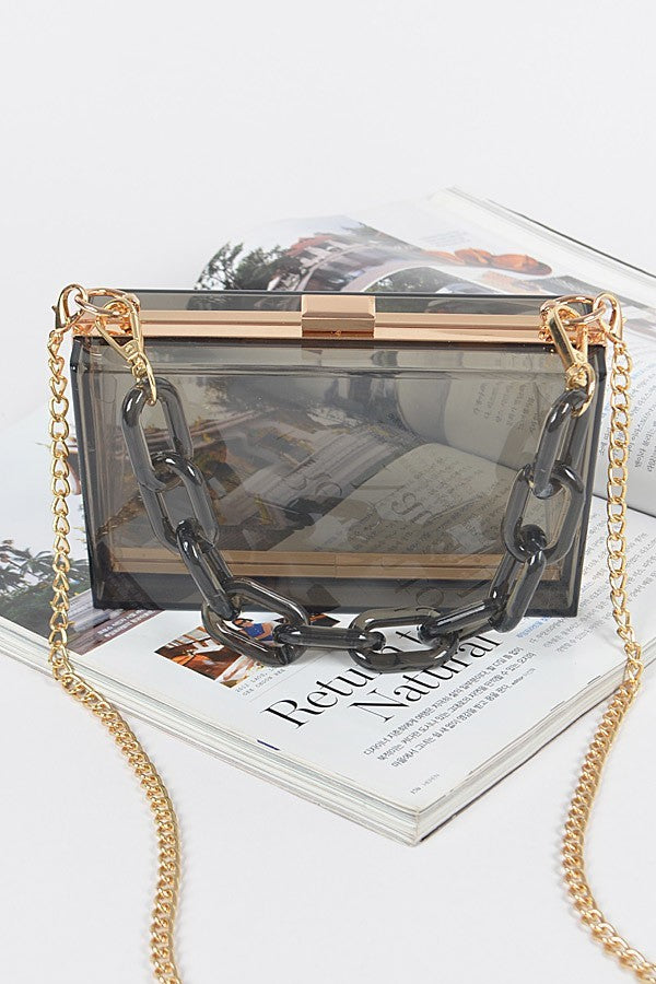 Outside the Box Clutch | Black