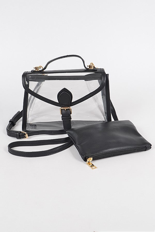 Free and Clear Crossbody Bag | Black