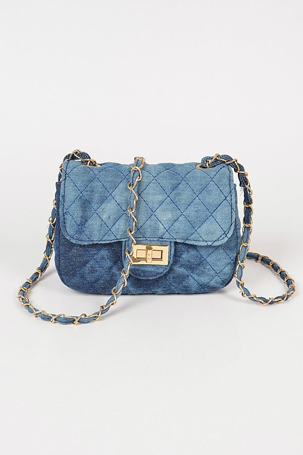 Blue My Mind Crossbody Bag | Denim