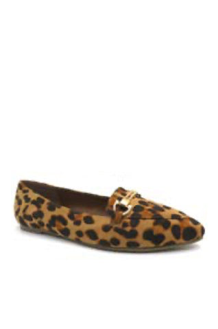 Ready or Not Pointed Toe Flats | Leopard Print