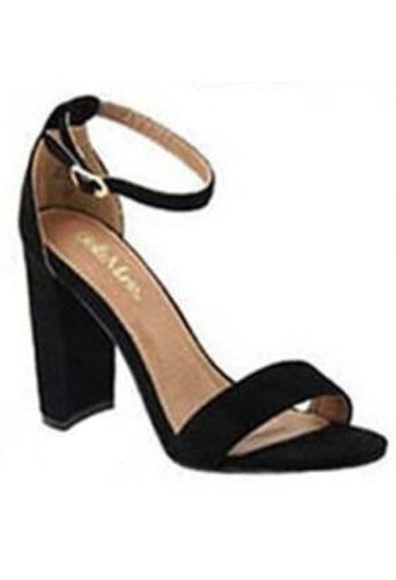 9bbf5512399 Less is More Block Heel | Black