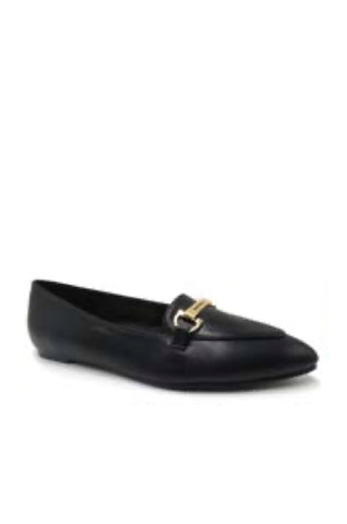 Ready or Not Pointed Toe Flats | Black