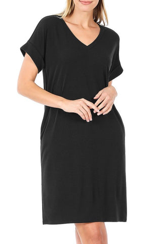 So Casual Dress | Black