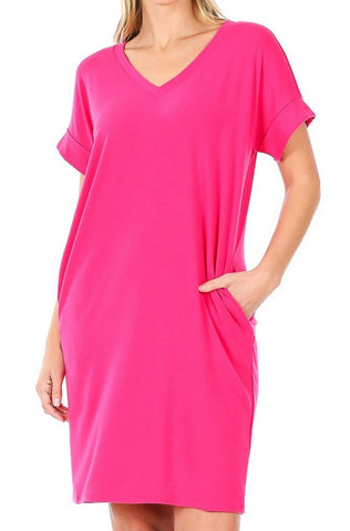 So Casual Dress | Pink