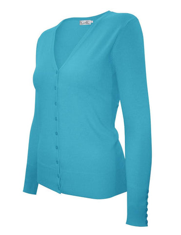Cover Up Cardigan | Aqua