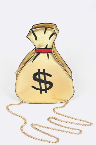 New Money Bag | Gold Hologram