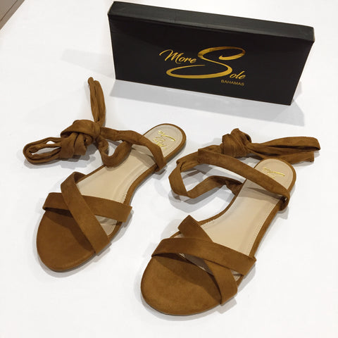 More Sole It's a Wrap Sandals | Tan
