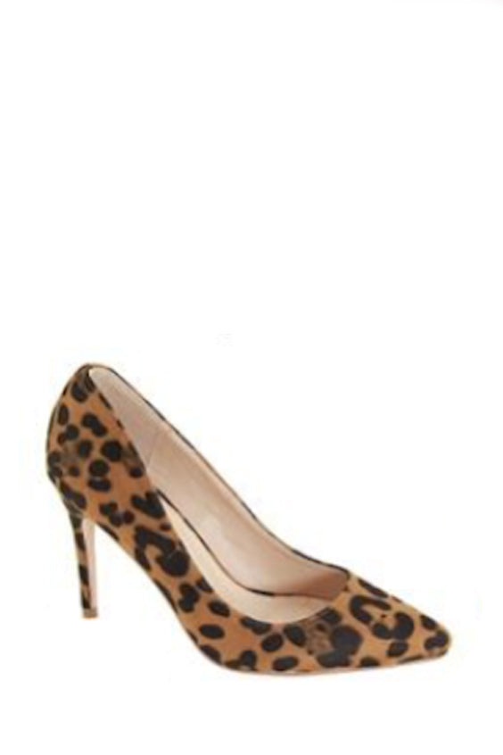 On My Own Pumps | Leopard
