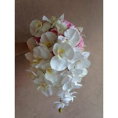 White Orchid Phenalopsis Bouquet
