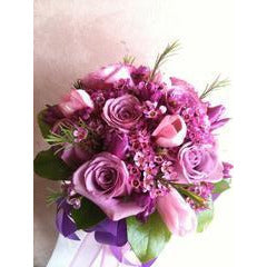 Star Gaze Purple Bouquet