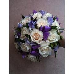 Purple Spotted Bouquet