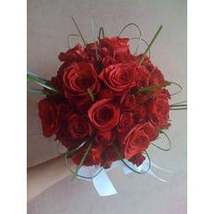 Red Rose Whirl Bouquet