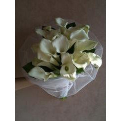 White Cala Lilly Bouquet