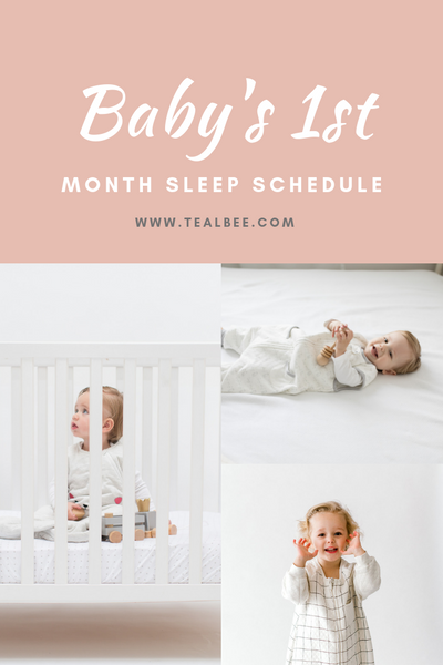 Baby's First Month Sleep Schedule
