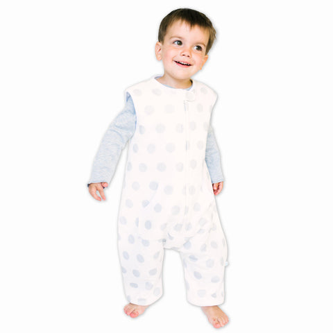 Dreamsuits for Walkers & Toddlers - GOTS Organic Cotton (Polka Dots)