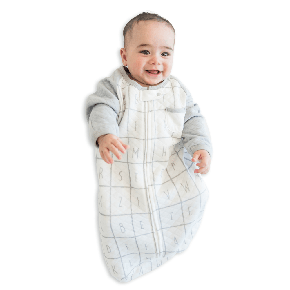 Alphabet Infant Sleeping Bag - 0.6 TOG - Tealbee