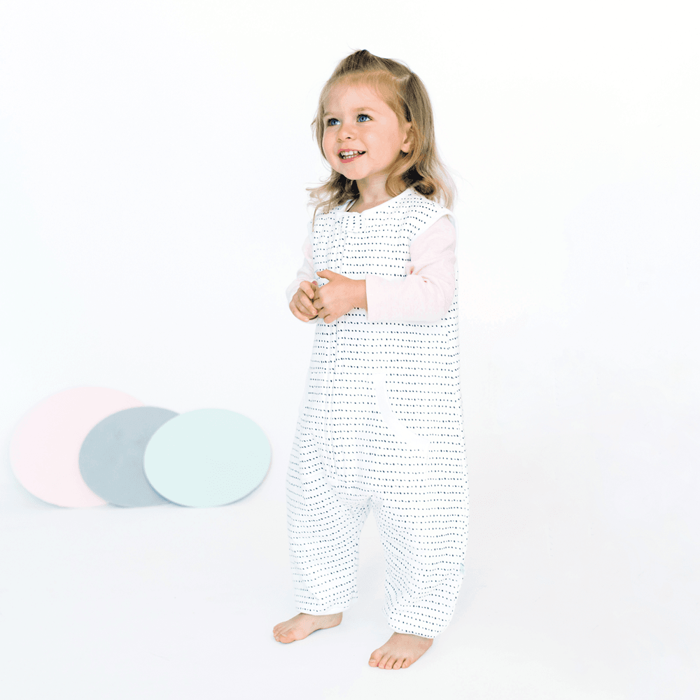 Brushed Black Dreamsuit - 1.5 TOG Toddler Wearable Blanket - Tealbee