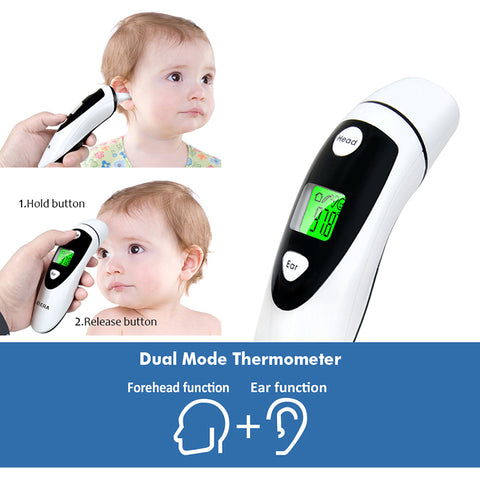 Baby Forehead and Ear Thermometer