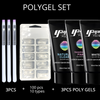 Image of Poly Gel Builder Quick Extension Nail Set