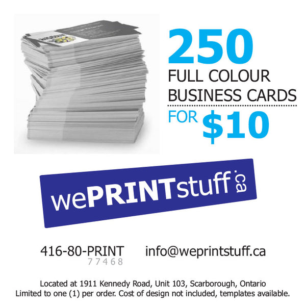 Business cards 250 for 10 weprintstuff business cards 250 for 10 colourmoves