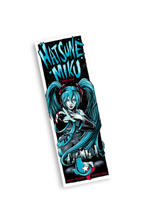 Hatsune Miku 5/17/16 Houston Event Poster