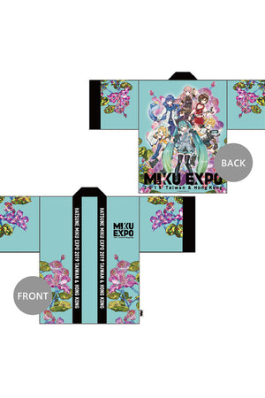 Hatsune Miku Gradation Group Happi Jacket Aqua