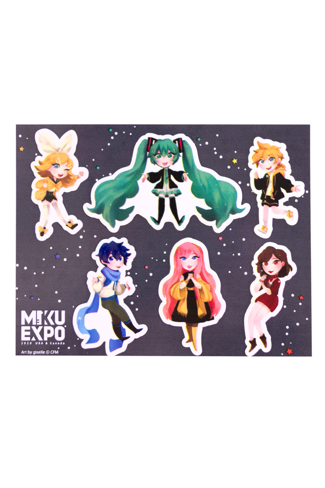 Hatsune Miku Giselle Sticker Sheet