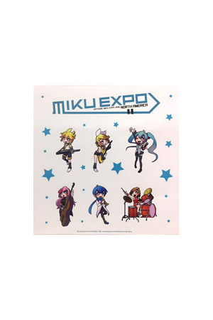 Hatsune Miku Group Sticker Sheet