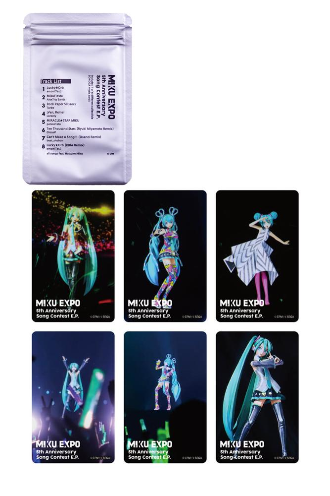 MIKU EXPO 5th Anniversary SONOCA music card