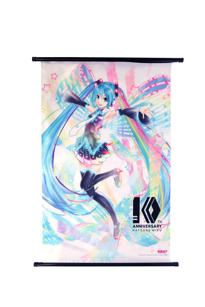 Hatsune Miku 10th Anniversary Wall Scroll