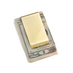 Gold Plated Money Clip.