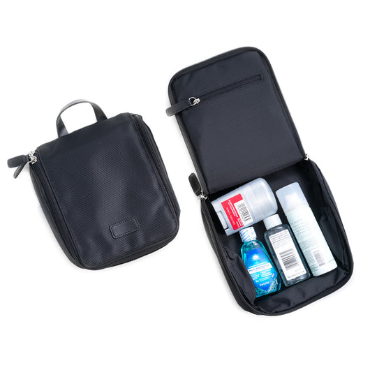Black Ballistic Nylon Storage Case & Accessories Pouch
