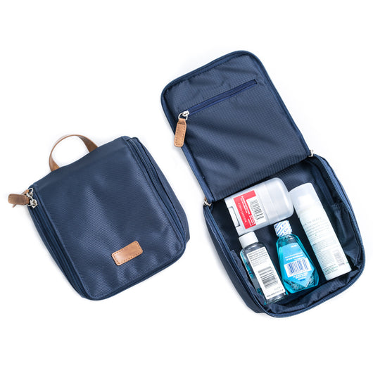 Blue Ballistic Nylon Storage Case & Accesories Pouch