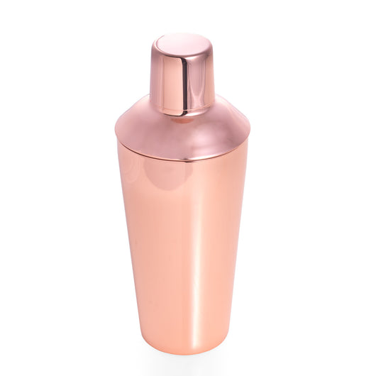 Copper Plated Stainless Steel 25 oz. Shaker with Strainer Top