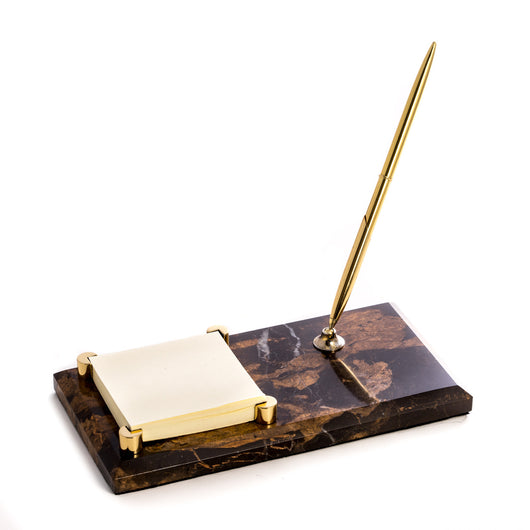 Memo Pad Holder w/Pen, T.P. Note: This item is also offered with professional insigna. Please see item #'s D012B, D012L and