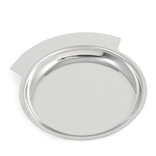 Change Tray / Wine Bottle Coaster, Chrome Plated, T.P.