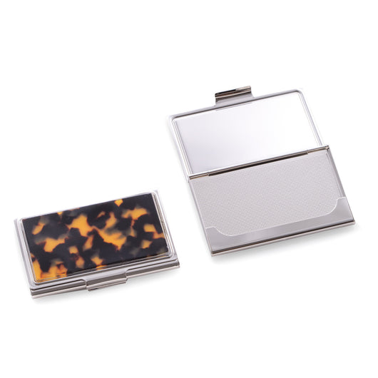 Nickel Plated Business Card Case with