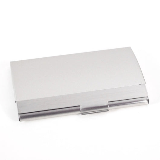 Pocket Business Card Holder, Stainless, T.P.