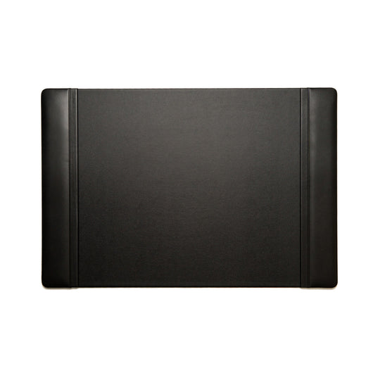 Desk Pad in Black Leather, Measures 20