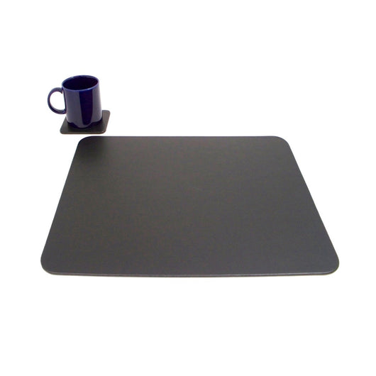 Conference Table Pad with Single Coaster.