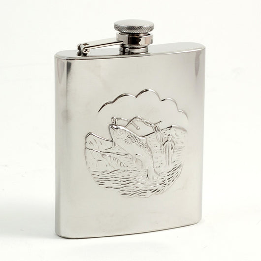 8 oz. Stainless Steel Flask with