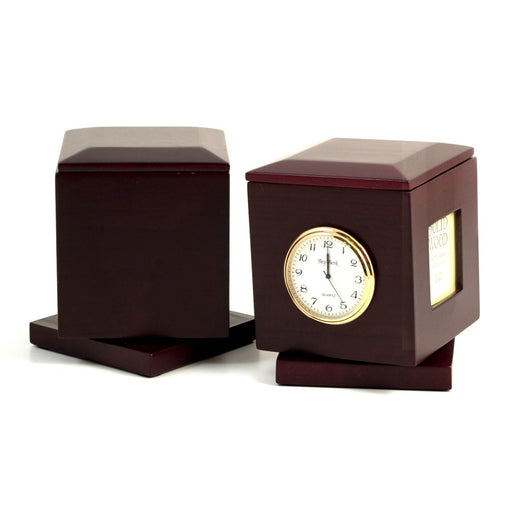 Swivel Frame Box w/ Clock & Personalization Plate, T.P.