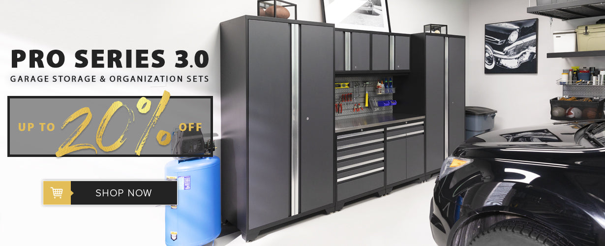 Pro Series 3.0 Garage Cabinet Sets Deal & Sales