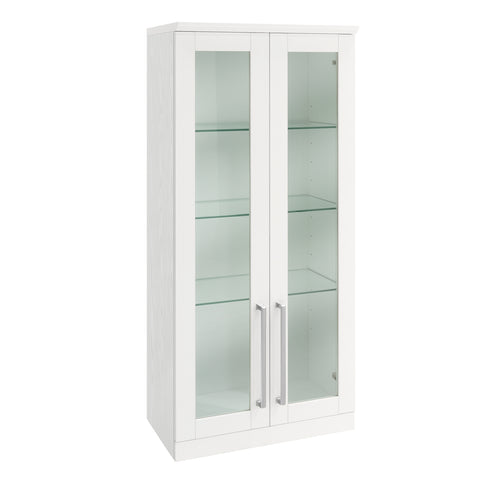 Home Bar Tall Wall Cabinet - 21""