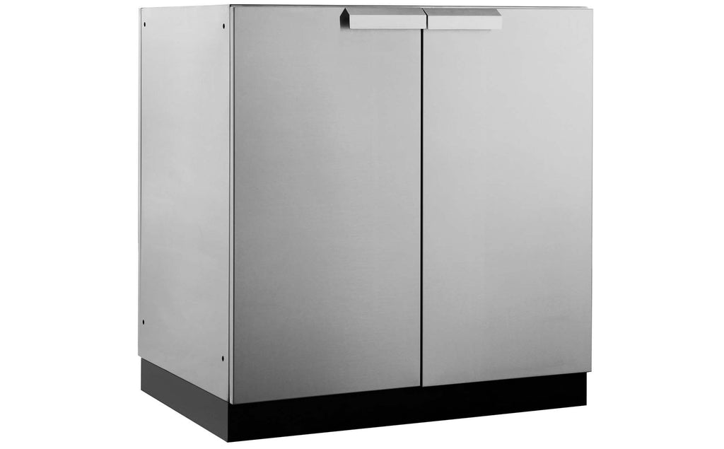 Newage products 32w x 23d outdoor kitchen 2 door cabinet in stainless steel eventshaper