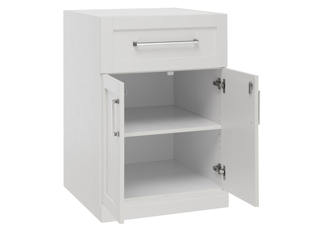 Home Bar 2-Door with Drawer Cabinet Inner View