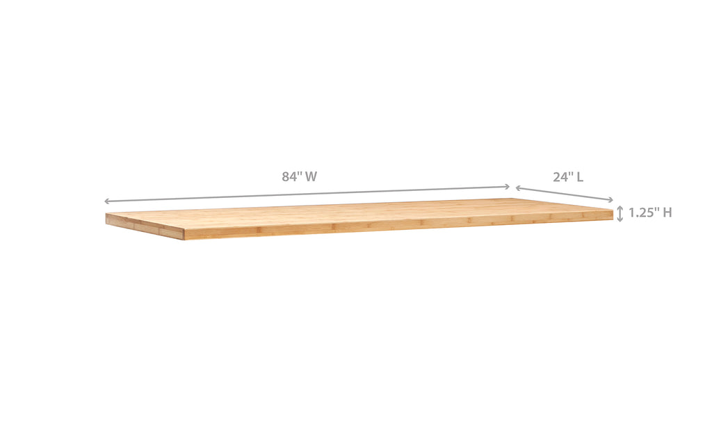 Linear 84 inches / Bamboo