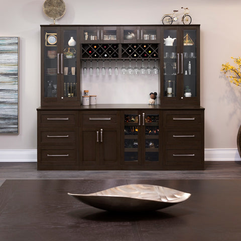 Home Bar 5 Piece Cabinet Set - 24""